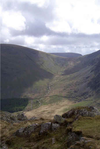 Path from Harter Fell