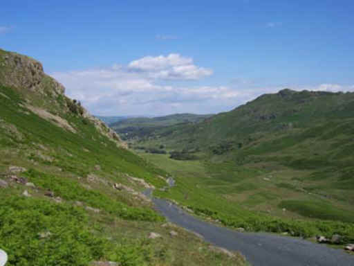 The Wrynose Pass