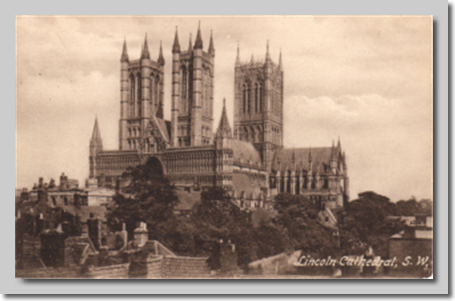 Lincoln Cathedral 1900s